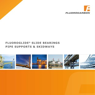 Fluoroglide Slide Bearings, Pipe support and Skidways